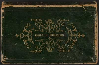 Emily Dickinson's bible, presented by her father Edward in 1844.  (Emily Dickinson Museum)