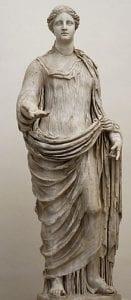 Roman statue of Demeter