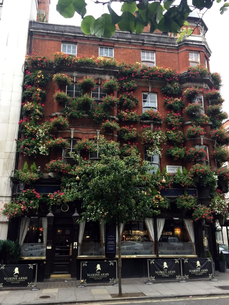 Mason Arms, London. cr. Tom Luxon