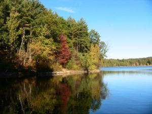 Walden Pond. cr. John-Manuel Andriote, Atlantic Monthly, Nov 1, 2012