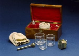 Cupping set, London, England, 1860-1875