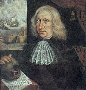 Thomas Smith, Self Portrait, c. 1680