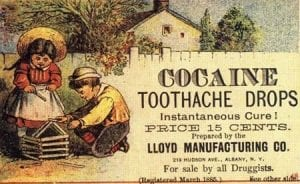 Patent medicine aimed at children, 1885