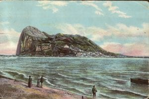 Postcard of Gibralta