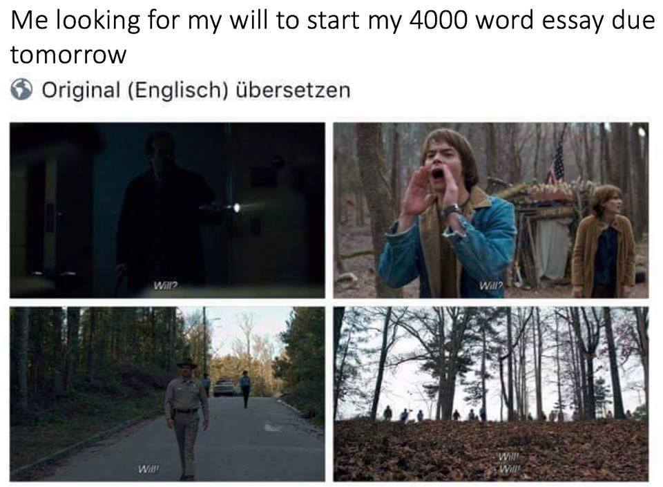 How i start an essay meme