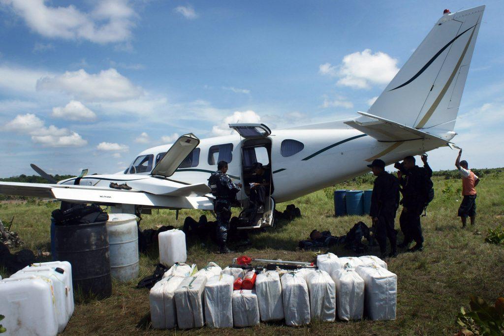 drug-plane-seized-honduras