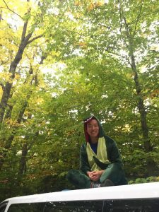 Me, in the forests of New Hampshire
