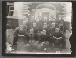 Dartmouth College Rauner Library, Football Teams 1900-1910, 1909.