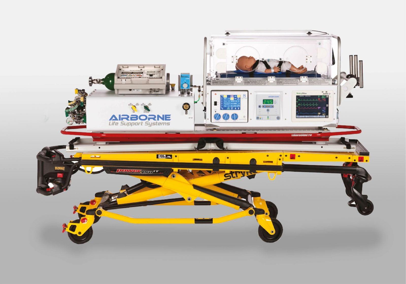 Hospital Transport Incubator