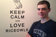 Rice alumnus Kevin Schell '11 is one of 18