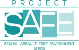 logo for Sexual Assault Free Environment at Rice