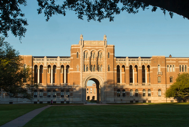 "Rice University is ranked among the top 20 national universities and among the top 10 best values in U.S. News & World Report's ""Best Colleges 2015."""