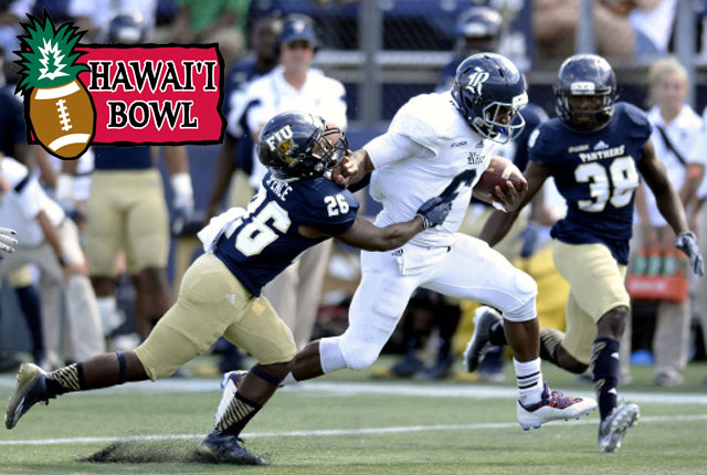 The 2014 Rice Owls will become the first football team in school history to play in three consecutive bowls when they take on Fresno State in the Hawaii Bowl Dec. 24.