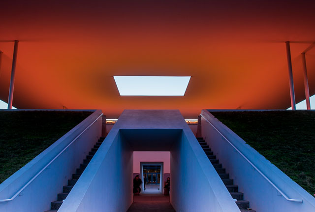 Tucked into the concrete structure of James Turrell's soaring Skyspace is an acoustic system that Rice student composers are using to explore the interplay of sound and light.