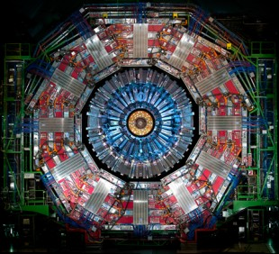 The CMS detector at CERN's Large Hadron Collider.