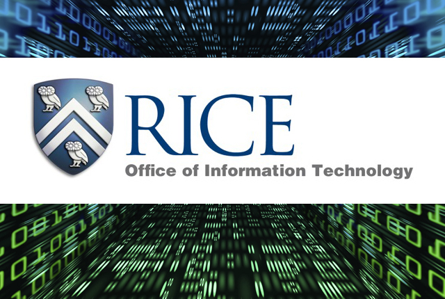 Rice University's IT professionals got their first look Friday at the organizational structure and plans for the Office of Information Technology, a new university entity that will become effective March 1.