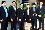 SpiroSense, a seven-member team from Johns Hopkins University, took top honors in the 2015 National Undergraduate Global Health Technology Design Competition held at Rice University March 27. The team captured first place in the annual competition with a complete diagnostic system for obstructive lung disease.