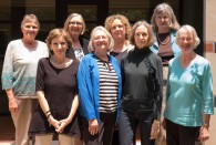 The Rice Readers gathered May 27 to celebrate 10 years of enjoying books and discussing them over lunch.