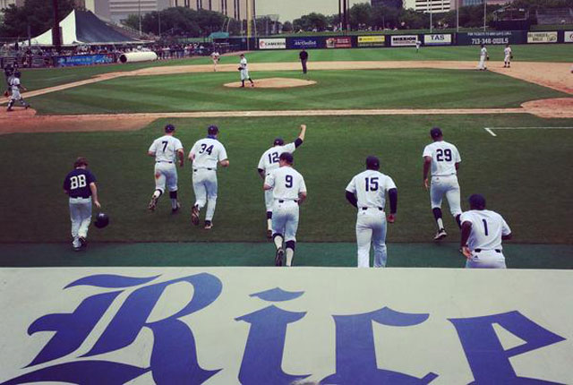 Rice baseball wins 20th consecutive conference title and will open C-USA tournament Wednesday as No. 1 seed.