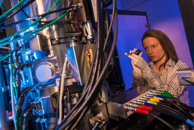 Rice researchers now have one of the most powerful microscopes in the United States. The Titan Themis will allow them to view and characterize materials with atom-scale resolution.