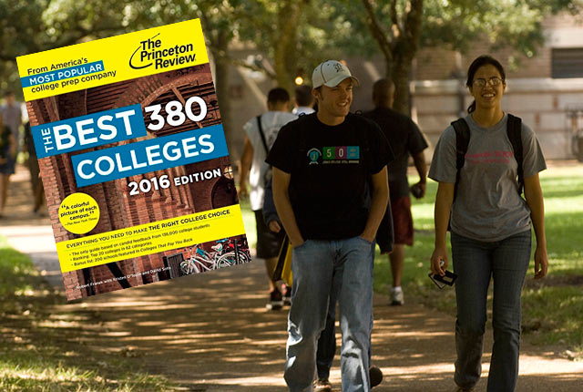 "Rice University has two No. 1 spots in the 2016 edition of the Princeton Review's ""The Best 380 Colleges"": Best quality of life and lots of race/class interaction."