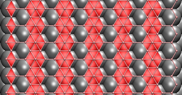 Rice scientists have determined that still-theoretical two-dimensional boron would adjust its form depending on the substrate used in the growth process. They found that a copper substrate would be best for growing flat boron in a chemical vapor deposition furnace.