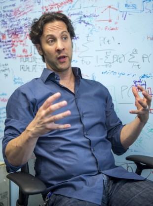 David Eagleman '93. (Photo by Tommy LaVergne)