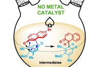 Rice scientists have developed a metal-free process for the rapid synthesis of elusive small-molecule catalysts that promise to speed the making of novel chemicals, including drugs.