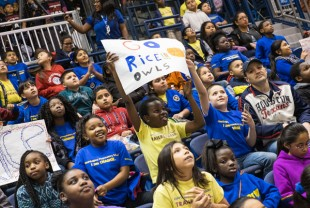 School House Mania provides an educational field trip along with the fun of watching a college basketball game.