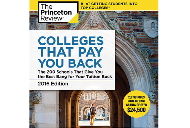 "Rice University is ranked No. 9 in the Princeton Review's 2016 edition of ""Colleges That Pay You Back."""