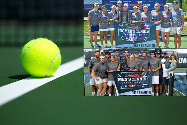 Both Rice women's and men's tennis teams won Conference USA titles over the weekend.