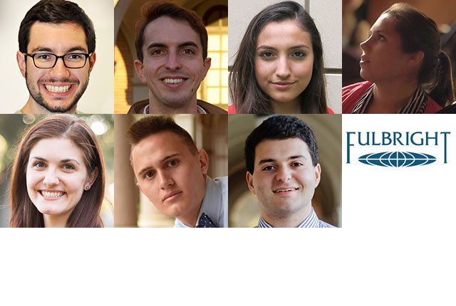 Seven Rice University students have been awarded 2016 Fulbright grants to study, teach and/or conduct research in a foreign country.
