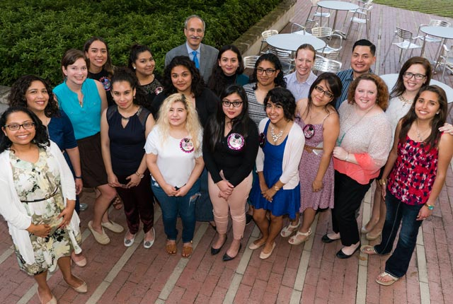 Rice's Institute of Biosciences and Bioengineering recently celebrated the graduation of the first students from its Girls STEM Initiative, an intensive three-year preparatory program conducted in partnership with Houston's Chávez High School.