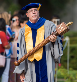Professor Keith Cooper '78, chief marshal for commencement