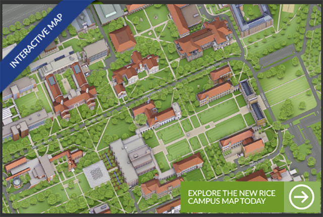Visitors to Rice have a new way to navigate campus.