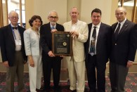 The American Chemical Society has presented Rice University the Citation for Chemical Breakthroughs Award in recognition of the discovery of carbon 60, or the buckyball, at Rice in 1985.