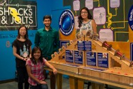 Rice students design and install a lesson in electricity and magnetism for visitors to the Children's Museum of Houston.