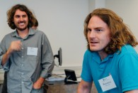 Two advanced doctoral students in the Philosophy Department -- Peter Zuk and Brandon Williams -- have received a $10,000 grant from the American Philosophical Association to help fund Ethics and Society, a three-week, tuition-free summer enrichment program for rising juniors and seniors from Houston-area public and charter schools who qualify for free or reduced-price meals.