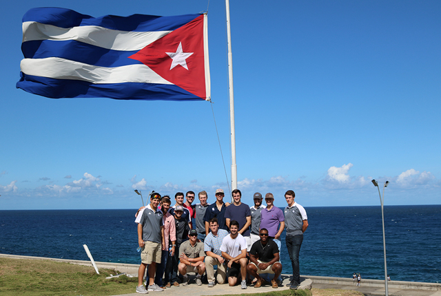 Rice baseball trip to Cuba turns into historic learning experience.