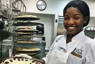 Essence Derouen, a cook II at Baker College since 2013, died March 19. She was 21.
