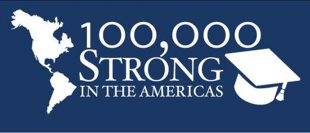 100,000 Strong in the Americas logo