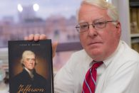 "In a new book spanning more than 640 pages, Rice's eminent scholar of the American South, John Boles '65, takes a fresh, nuanced look at one of America's most talented, enigmatic and complex Founding Fathers, Thomas Jefferson. Not since the 1970 book ""Thomas Jefferson and the New Nation"" by Boles' mentor Merrill Peterson has a scholar published a comprehensive biography of the third president of the U.S."