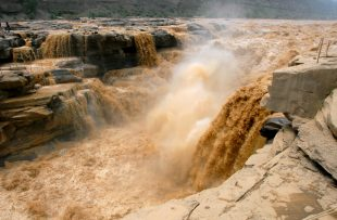 Hukou Falls on the Yellow River
