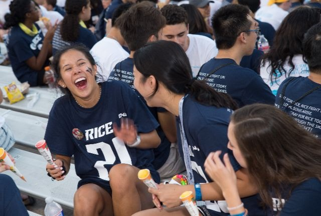 For the first time, Rice received nearly 20,900 applications for admission, the largest year-to-year growth in the university's history.