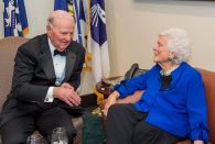 On April 17, Baker issued a statement on the passing of Barbara Bush, who died in Houston at age 92.