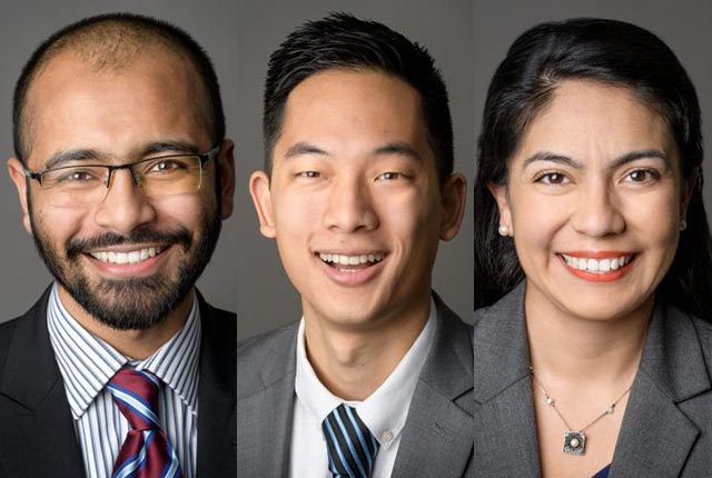 Rice alumni Benjamin Chou '13, Norma Torres Mendoza '13 and Muhammad Shamim '14 are among 30 scholars awarded 2018 Paul & Daisy Soros Fellowships for New Americans.