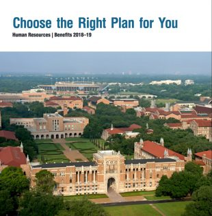 2018-19 Rice Human Resources Benefit Booklet