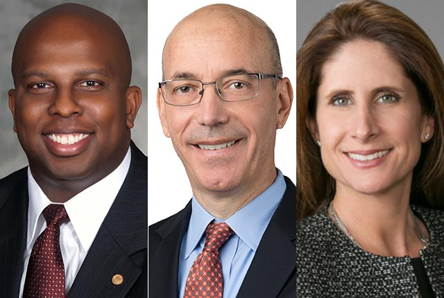 Business leaders Donald Bowers, Bart Broadman and Holli Ladhani have been elected to the Rice University Board of Trustees.