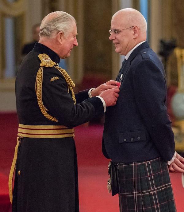 Prince Charles and David Alexander