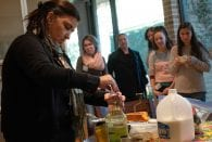 Lovett College Magister Mayra Onuchic brought her decades of experience baking pão de queijo — Brazilian cheese bread — to the kitchen Nov. 14, demonstrating […]
